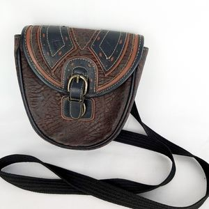 Chevron crossbody purse bag